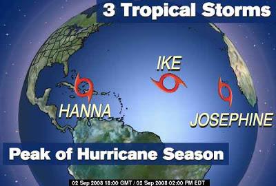 Hanna – Ike – Josephine