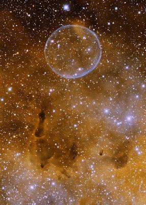 Soap Bubble in Cygnus