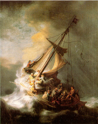 Crossing the Stormy Sea