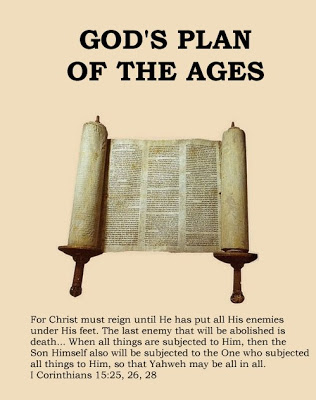 God's Plan of the Ages – Yahshua, Lord of the Ages