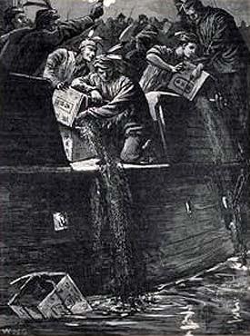 Dragon Flood – Part Four – Dragon's Brew – The Boston Tea Party