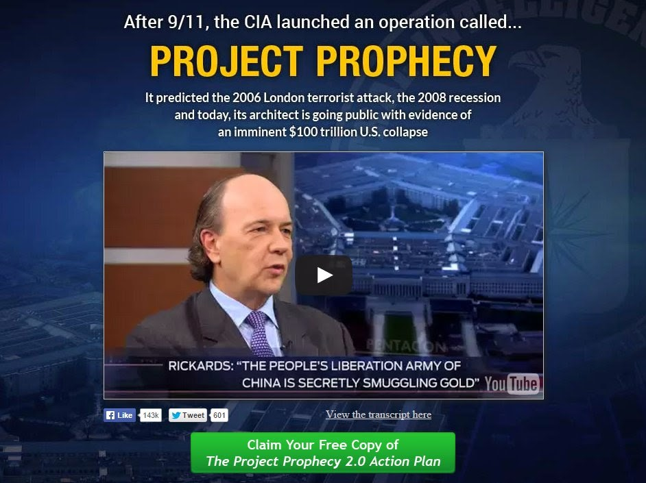 The CIA Prophecy – And What It Means For You