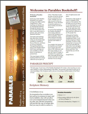 Newsletter Ministry Changes