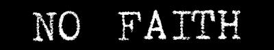 A Failure of Faith